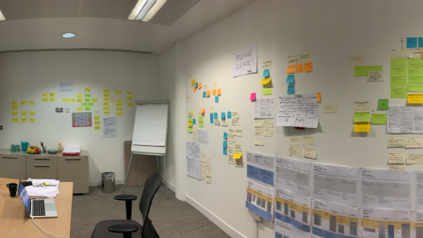 User research example 1